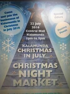 Kalamunda Christmas In July @ Kalamunda Central Mall | Kalamunda | Western Australia | Australia