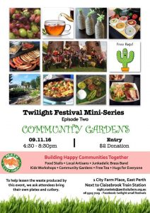 Perth City Farm Twilight Festival Mini Series @ Perth City Farm | East Perth | Western Australia | Australia