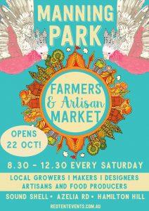 Manning Park Farmers & Artisan Market @ Sound Shell @ Manning Park, Hamilton Hill | Spearwood | Western Australia | Australia