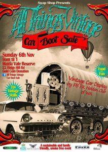 All Things Vintage Car Boot Sale @ Maida Vale Reserve | Maida Vale | Western Australia | Australia