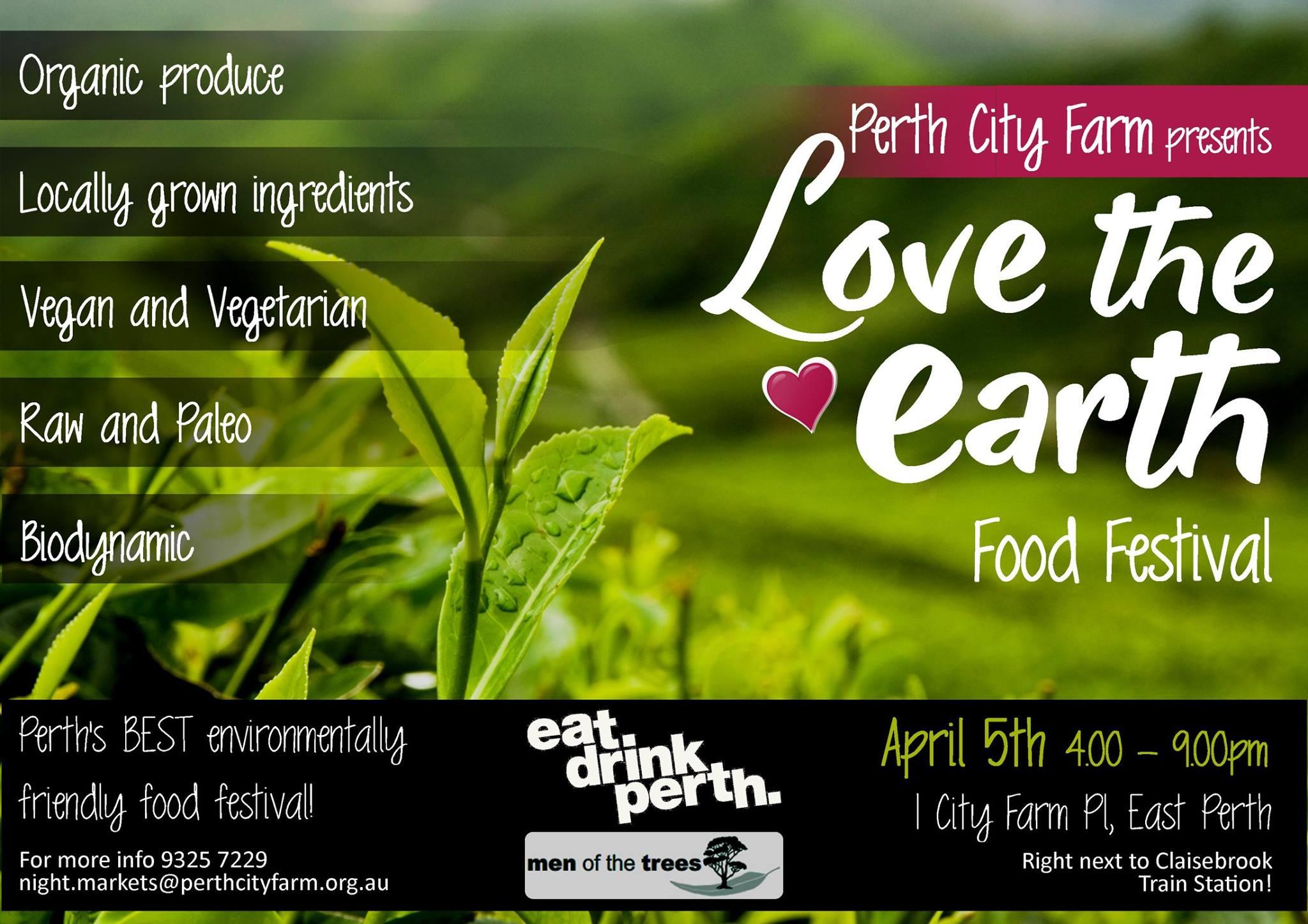 Love the Earth Food Festival @ Perth City Farm | East Perth | Western Australia | Australia