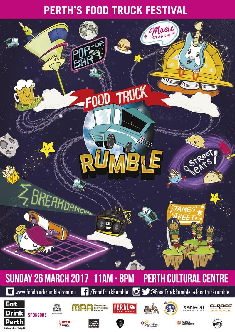 Food Truck Rumble @ Perth Cultural Centre | Northbridge | Western Australia | Australia